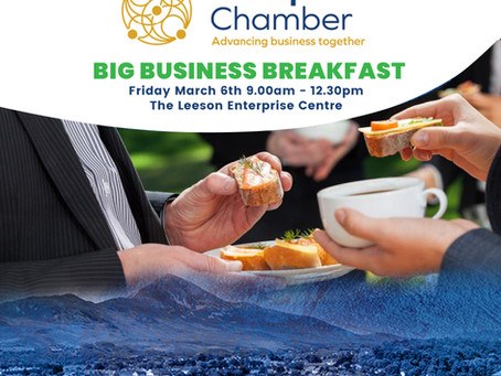Big Business Breakfast - Friday March 6th 9am to 12.30pm
