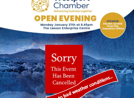 Westport Chamber Open Evening - Cancelled