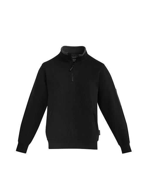 ZT366 Mens 1/4 Zip Brushed Fleece