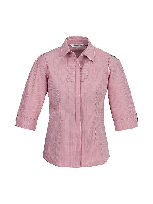 S121LT Ladies 3/4 Berlin Shirt