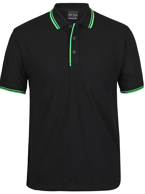 2CP Adults Contrast Polo 1