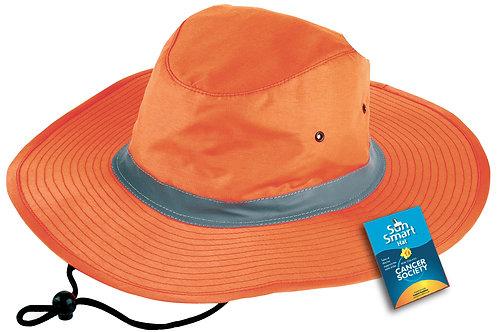 3900 Hi Viz Reflector Safety Hat
