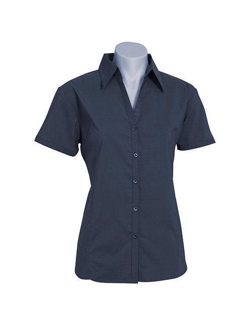 LB7301 Ladies SS Metro Shirt