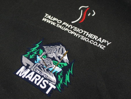 Embroidered Swimming Bags for Taupo Marist