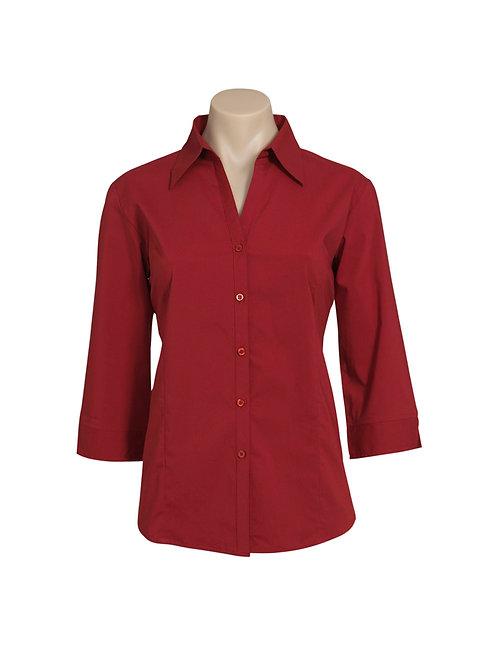 LB7300 Ladies 3/4 Metro Shirt