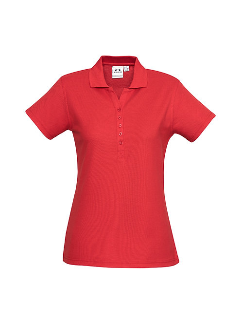 P400LS Ladies Crew Polo 1
