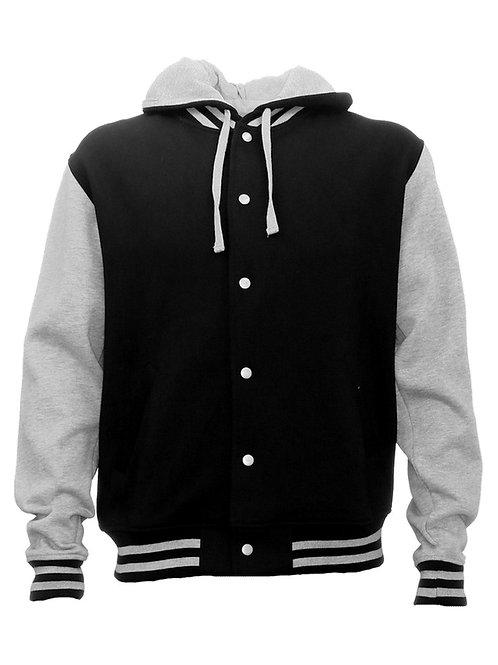 HLM Hooded Letterman Jacket