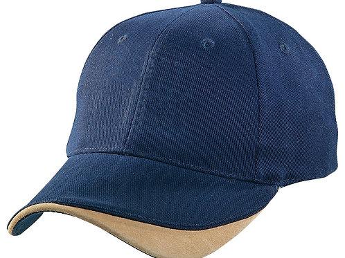4049 Sueded Signature Cap