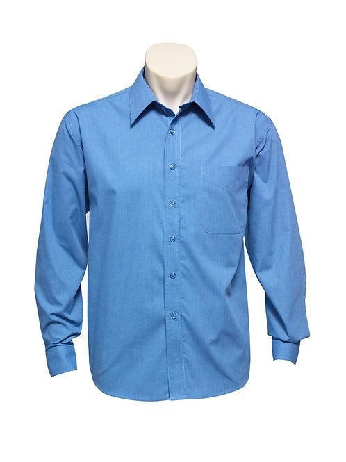 SH816 Mens LS Micro Check Shirt