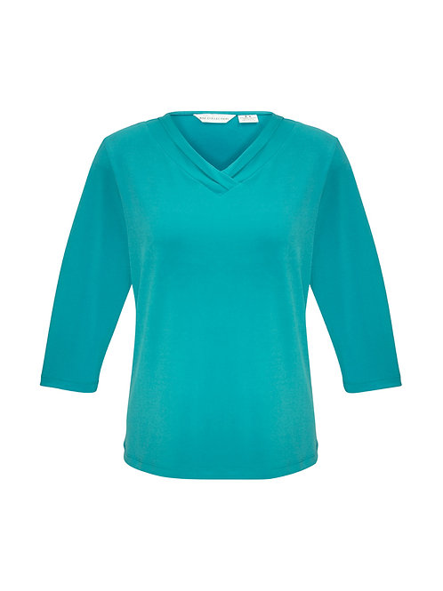 K819LT Ladies 3/4 Lana Shirt
