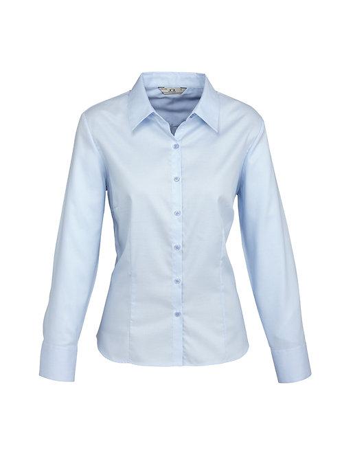 S118LL Ladies LS Luxe Shirt