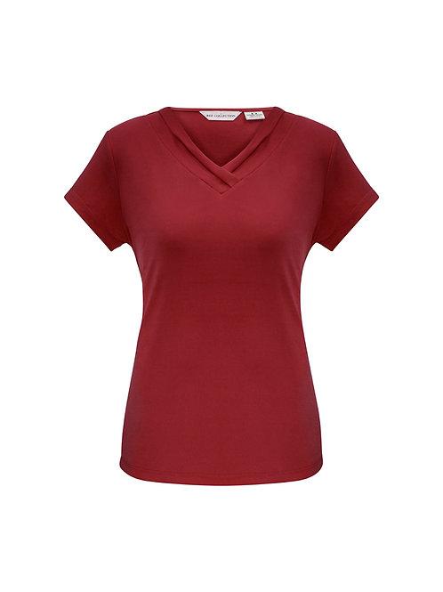 K819LS Ladies SS Lana Shirt