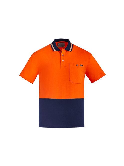 ZH435 Mens Hi Vis Cotton S/S Polo