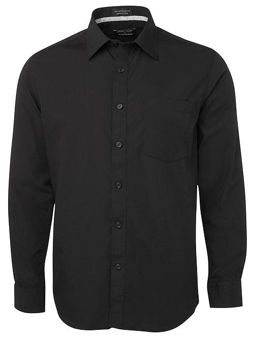 4PCSL L/S Contrast Placket Shirt