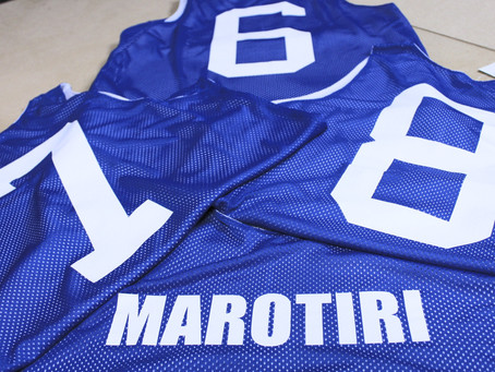 Reversible Basketball Singlets for Marotiri School
