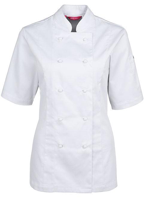 5CVS1 Short Sleeves Ladies Vented Chef's Jacket