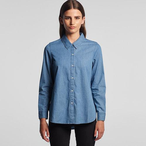 Blue Denim Shirt 4042