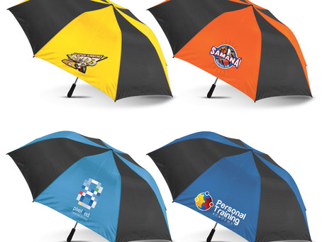 Umbrellas; The Hi Tech Advertising Product of the Future.