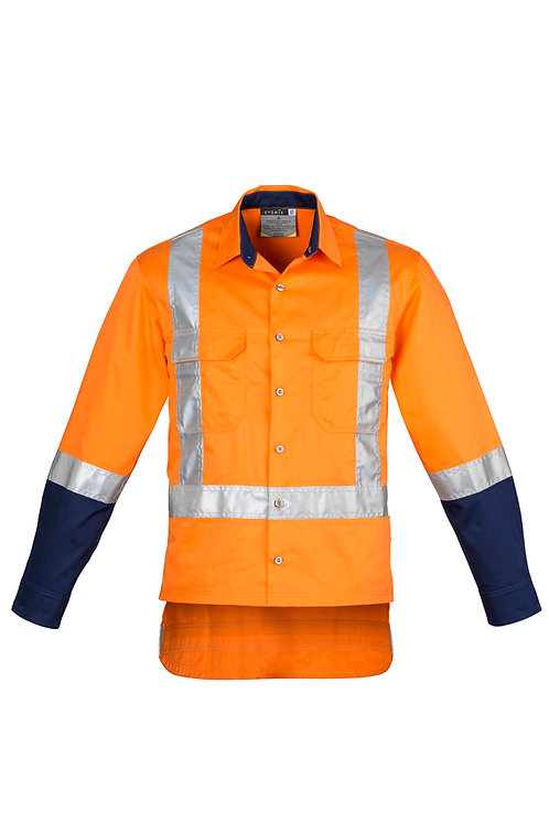 ZW125 Mens TTMC-W Drill Work Shirt