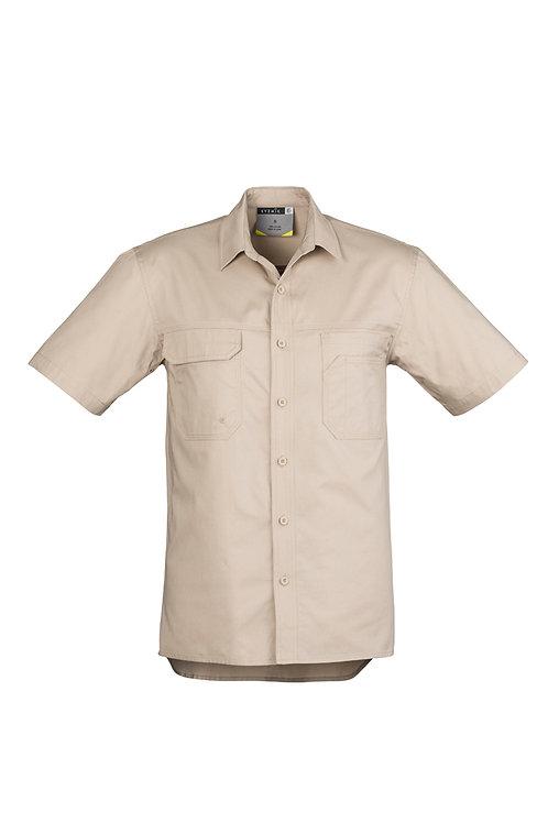 ZW120 Mens Lightweight Tradie S/S Shirt