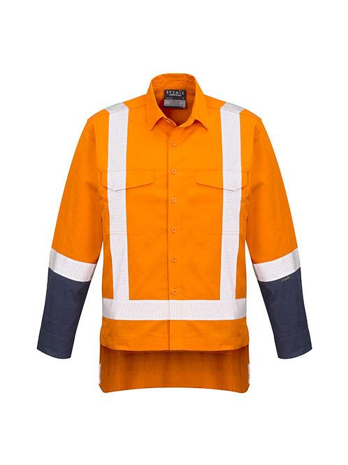 ZW820 Mens TTMC-W Rugged Cooling Work Shirt