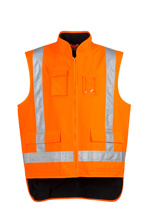 ZJ356 Mens TTMC-W Fleece Lined Vest