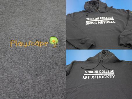 Team Hoodies for Tuakau College