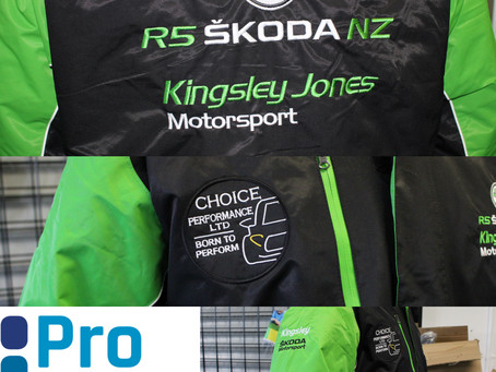 Kinglsey Jones Motorsport Jackets