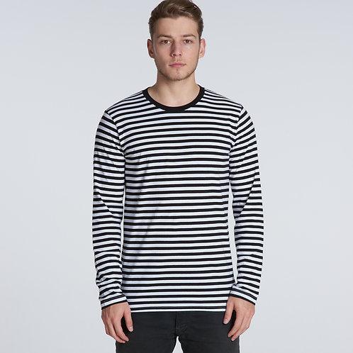 Match Stripe L/S Tee 5031