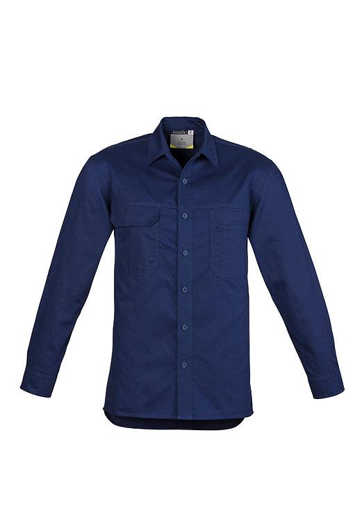 ZW121 Mens Lightweight Tradie L/S Shirt