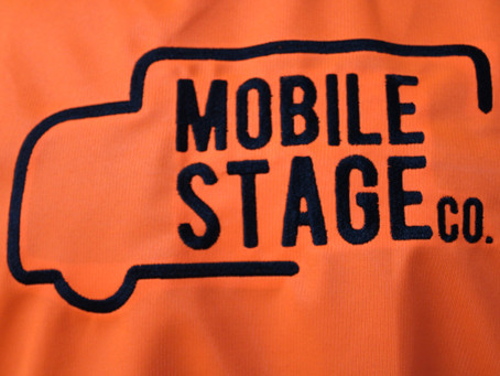 Hi Viz Vests for Mobile Stage Co.