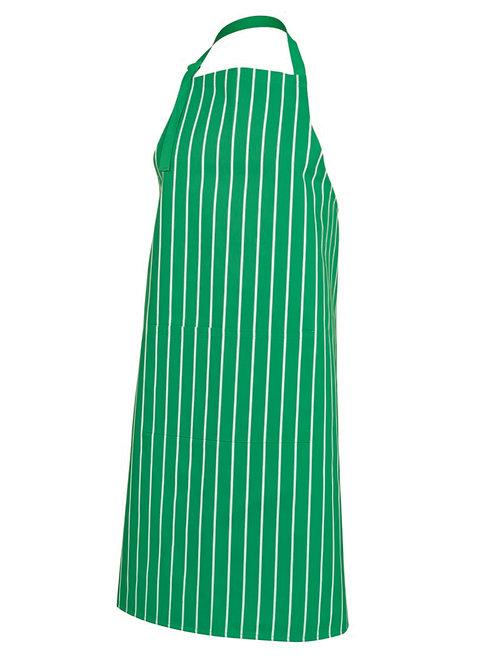 5BS Bib Striped Apron