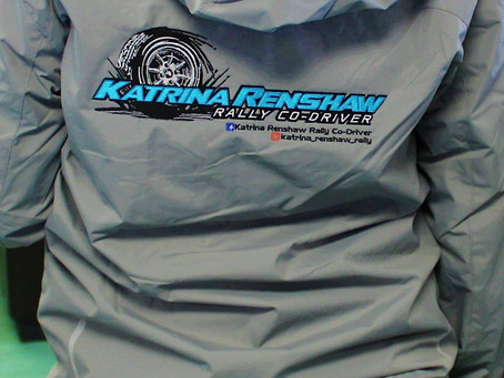 Nordic Jacket for Katrina Renshaw Rally Co-Driver