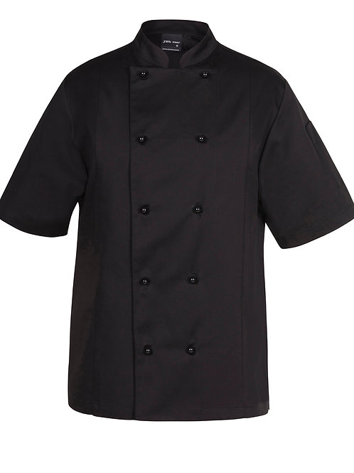 5CVS Short Sleeve Vented Chef's Jacket