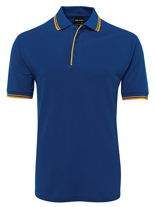 2CP Adults Contrast Polo 2