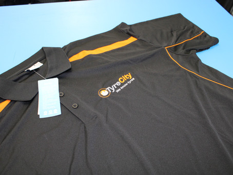 Polo Work Shirts for Tyre City Botany.