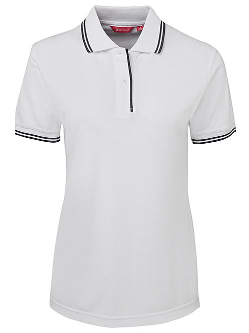 2LCP Ladies Contrast Polo 2