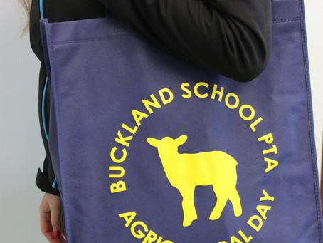 Buckland School Tote Bags