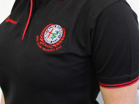 Alfa Romeo Car Club Polo Shirts