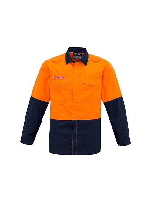 ZW138 Mens Hi Vis Spliced Shirt