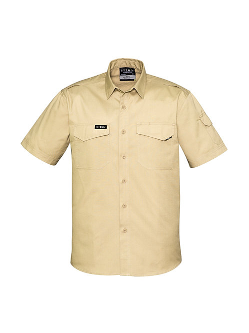 ZW405 Mens Rugged Cooling S/S Shirt