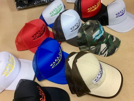 Colourful Caps