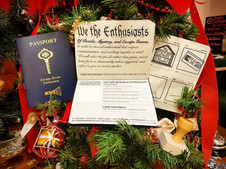 Escape Room Enthusiast Passport | The Perfect Gift for this Holiday Season!