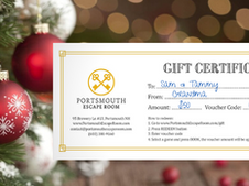 Holiday Promotion: Enjoy 20% Off Gift Certificates!