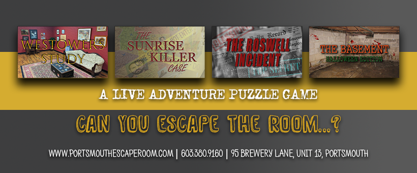 Portsmouth Escape Room Games and Team Building