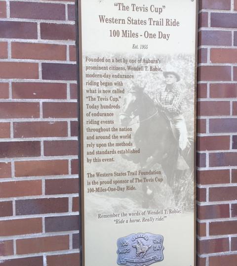 Tevis Memorial