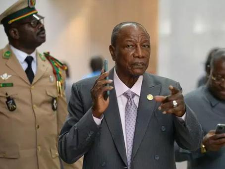 Guinée : le président Alpha Condé candidat à un troisième mandat