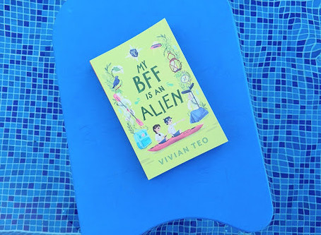 'My BFF is an Alien' book giveaway alert (till 14 May 2020)