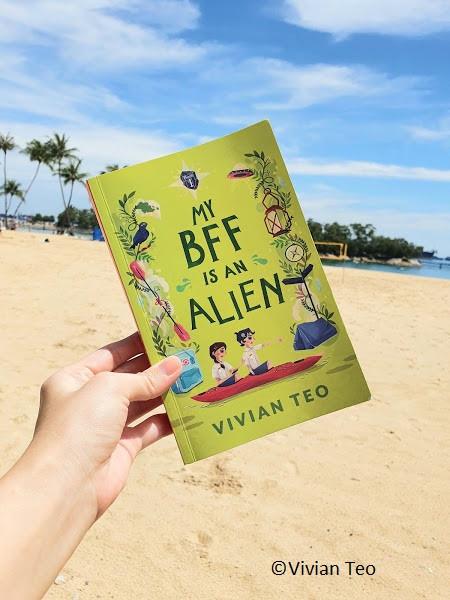 Singlit middle grade My BFF is an Alien book Vivian Teo children author Singapore
