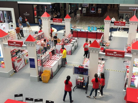 5 cool things to see and do at the Faber-Castell Art Festival at Marina Square